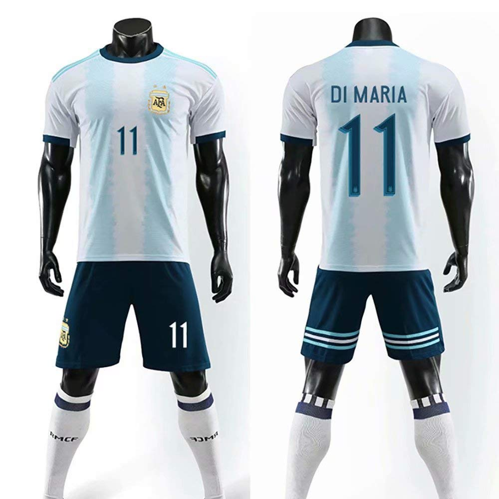 ONBaoFu 2019-2020 Custom Name and Number Home Away Football Jersey T-Shirt and Shorts Unisex Youths Boys Adults Kids Soccer Jersey Shirt Sports Jersey T-shirt Top