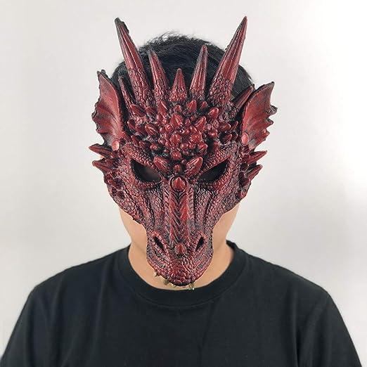 MSSJ Máscara de dragón Cosplay Traje de ala y Cola Juego de Tronos ...