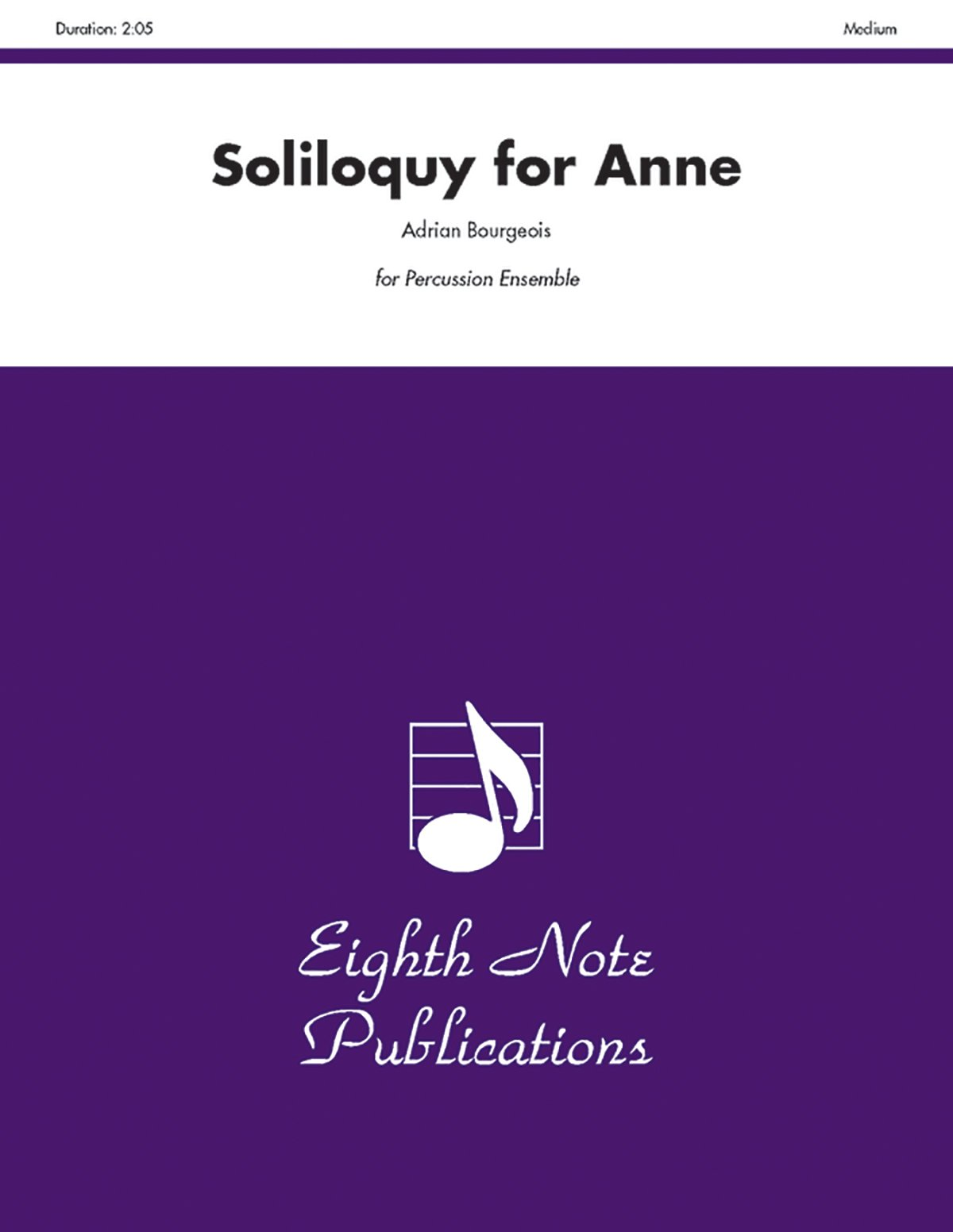 Soliloquy for Anne: For 6 Players, Score & Parts (Eighth Note Publications) PDF