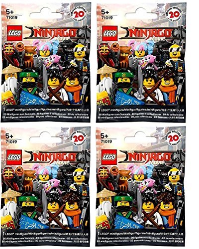 LEGO The Ninjago Movie Minifigures - Random Pack of 4 (71019)