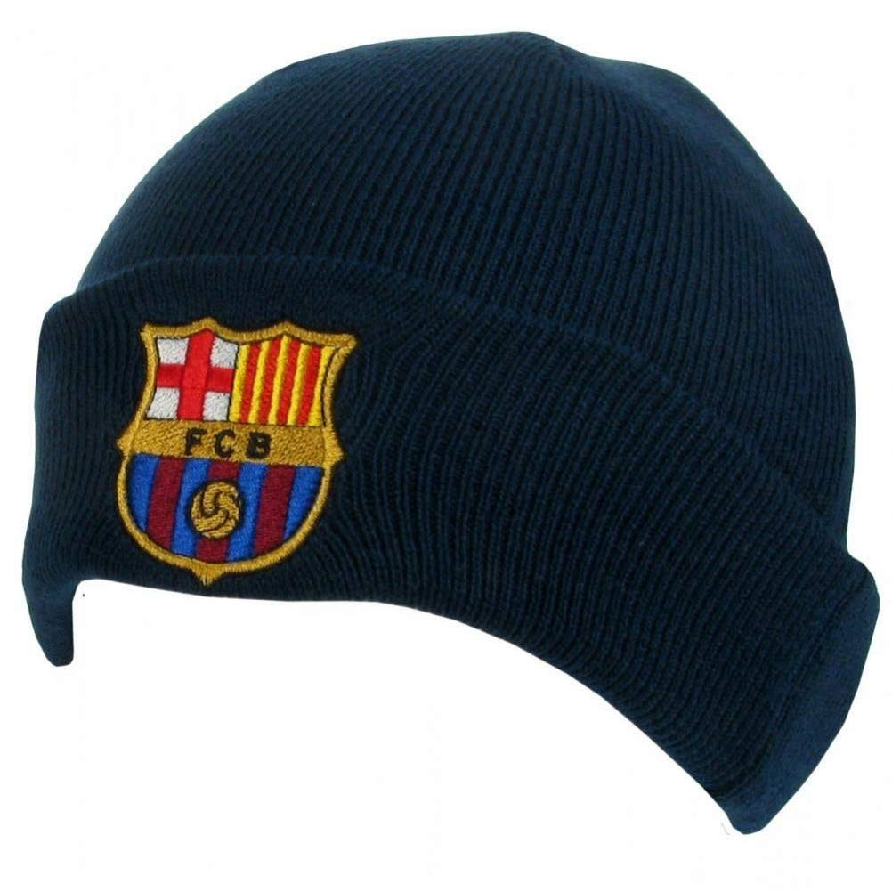 Barcelona F.C Barcelona Polsino a Maglia Hat-Navy