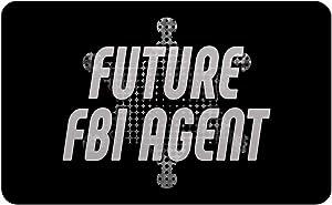 "Makoroni - FUTURE FBI AGENT Police Rectangle Magnet, 2""x3"" Refrigerator Magnet"
