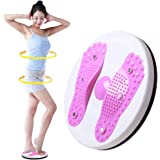 HaloVa Waist Twister, Bodytwister Ankle Body Aerobic Exercise Foot Exercise Fitness Twister Figure Trimmer Magnet Balance Rotating Board