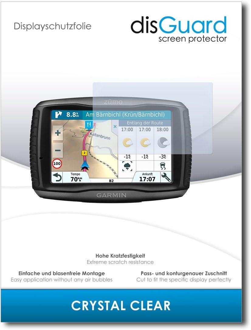 6 Unidades savvies Protector Pantalla Compatible con Garmin Zumo 595LM Pelicula Ultra Transparente