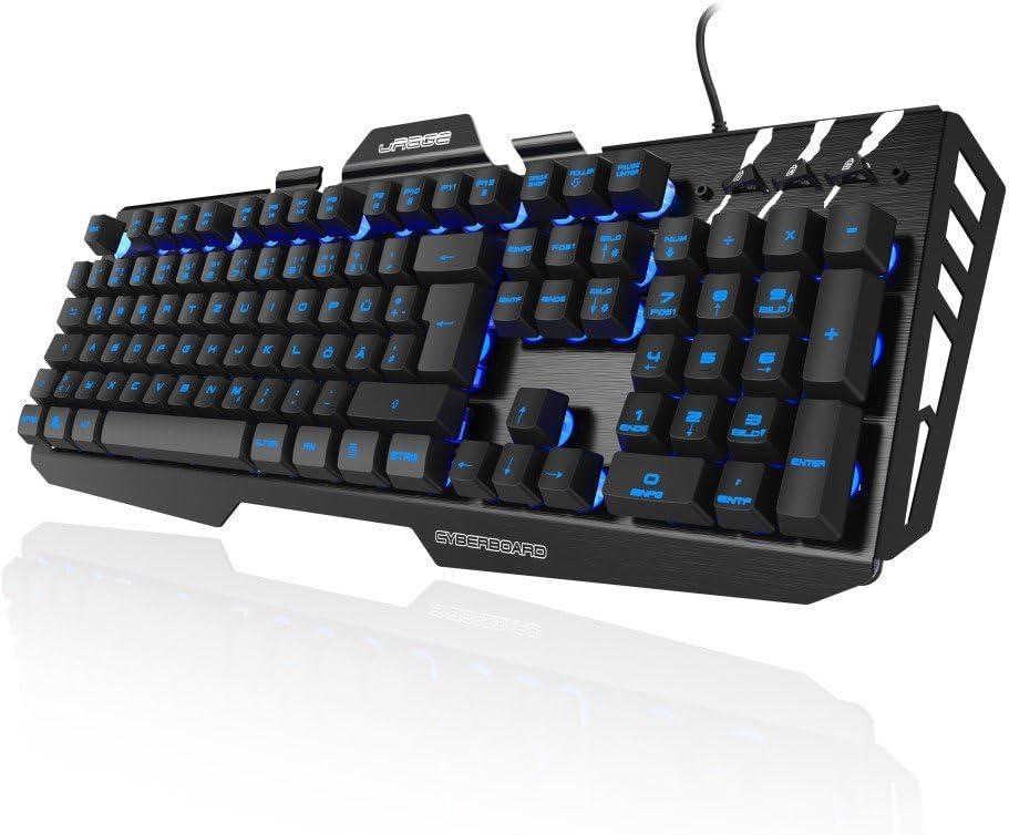 Hama Usb Gaming Tastatur Urage Cyberboard Beleuchtet Black Amazon Co Uk Computers Accessories
