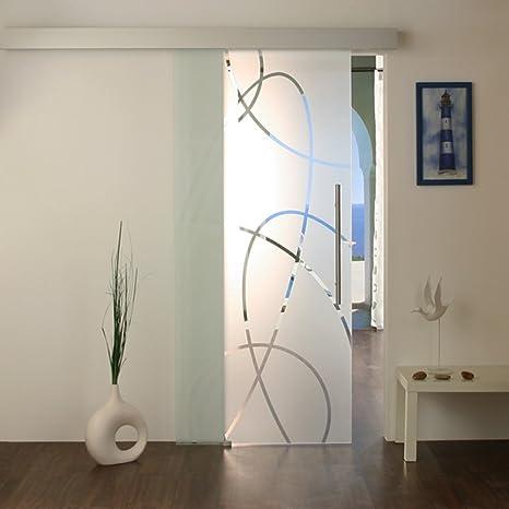 Techo puerta de cristal puertas correderas puerta corredera de vidrio puerta de cristal puerta de cristal 20AS: Amazon.es: Bricolaje y herramientas