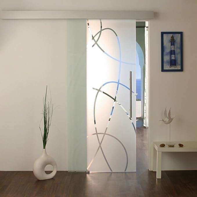 Techo puerta de cristal puertas correderas puerta corredera de ...