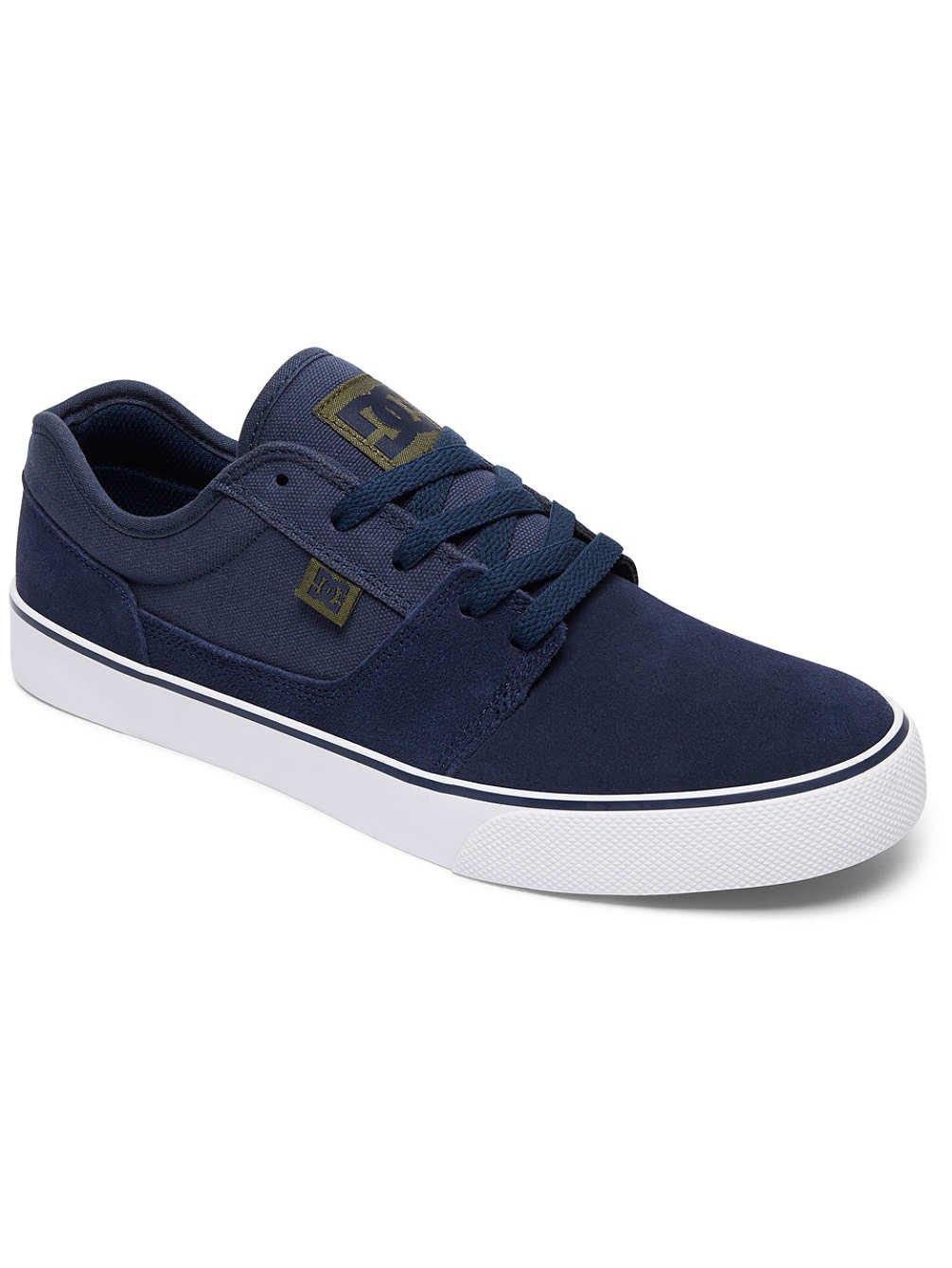 DC Shoes TONIK SHOE D0302905 - Zapatillas de ante para hombre 40 EU|Azul Marino