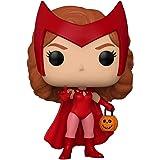 Marvel WandaVision - Boneco Pop Funko Halloween Wanda #715