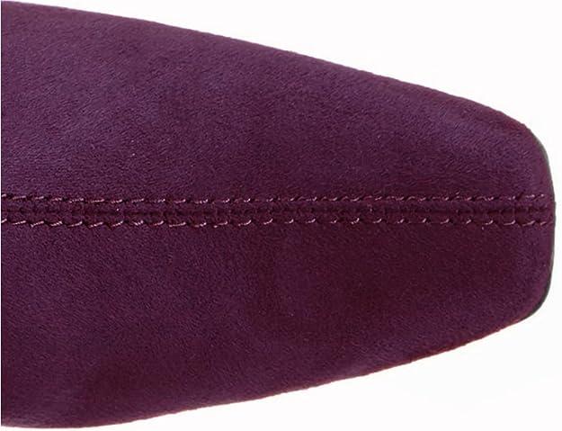 639b31628931 MARCO TOZZI 25556, Damen Kalte, gefütterte Slipper, Langer Schaft, Violett  - Merlot - Größe  35.5  Amazon.de  Schuhe   Handtaschen