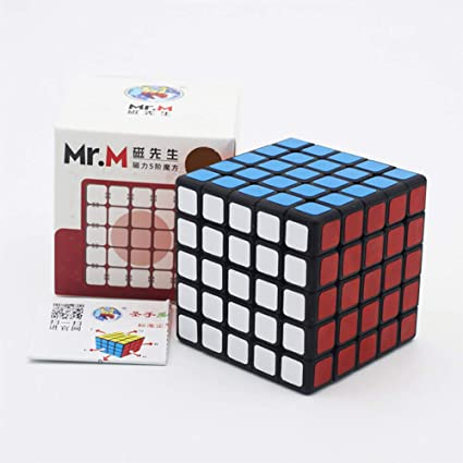Adeeing 5x5 Kids Professional Speed Magic Cube Puzzles Toy