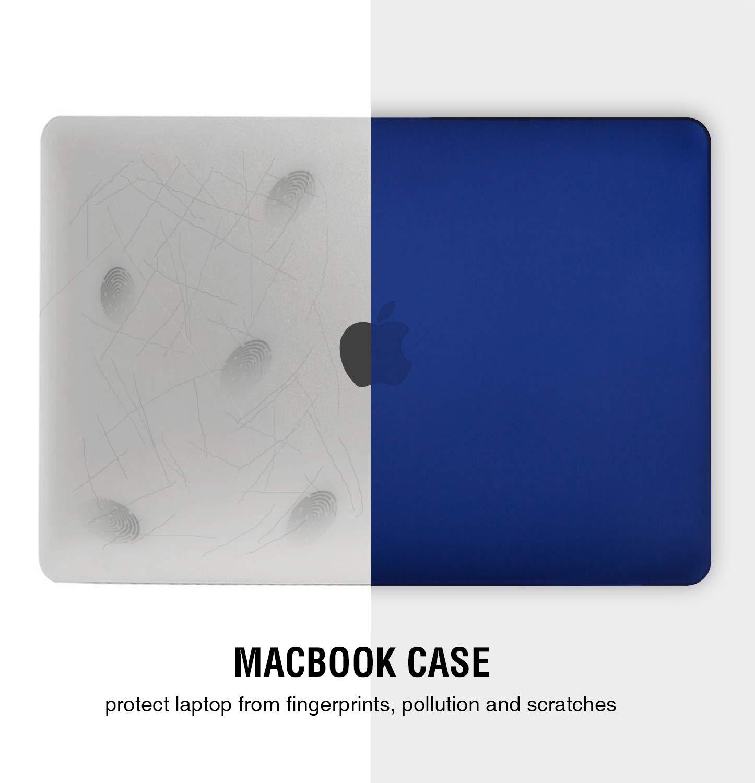 Nero Pellicola Protettiva Compatibile per Apple MacBook PRO 16 Pollici 2019(Modello A2141) i-Buy Custodia Rigida Copritastiera Trasparente