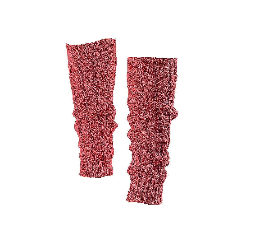 I LOVE DIY Gu/être Jambi/ères Legging Chausettes Hiver Chaud Tress/é Tricot Femme