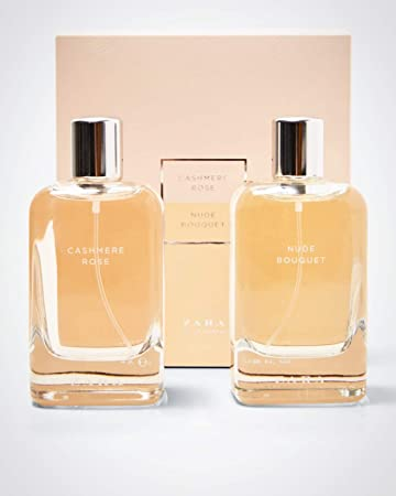 Amazoncom Zara Womens Cashmere Rosenude Bouquet Eau De Parfum