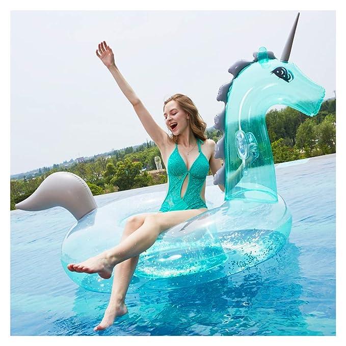 WSGJHB Flotadores inflables de Unicornio para Adultos con ...
