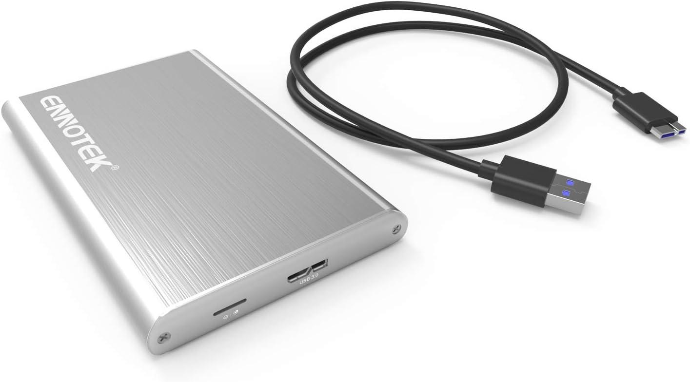 ORICO Caja de Aluminio USB 3.0 de Disco Duro Externo HDD / SSD SATA III de 2,5 Pulgadas con UASP: Amazon.es: Informática