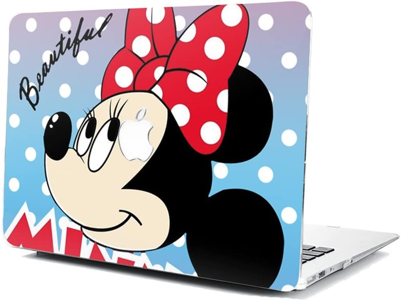 "GSPSTORE MacBook Air 13 Inch Case,Mickey and Minnie Cartoon Hard Shell Protector Cover for MacBook Air 13"" Model A1369/A1466#03"