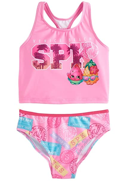 81857649b658e Amazon.com: Shopkins Girls Swimwear Swimsuit (Little Kid): Clothing