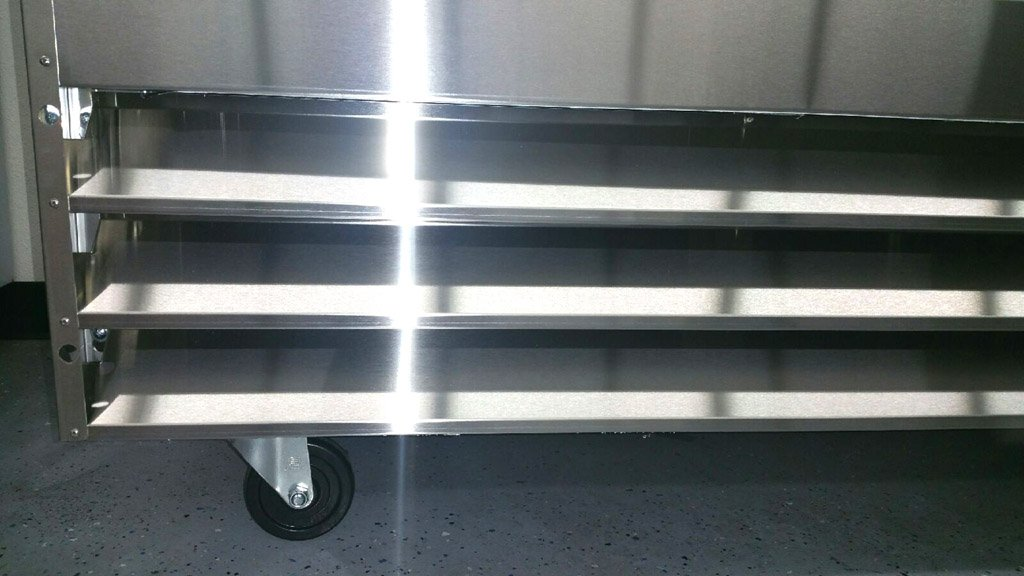 81'' Upright Stainless Steel 3 Door Commercial Freezer, 72 Cubic Feet, CFD-3FF, for Restaurant