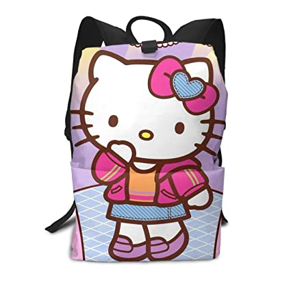 07123326f Amazon.com: Adult Travel Laptop Backpack - Hello Kitty Girl Business ...