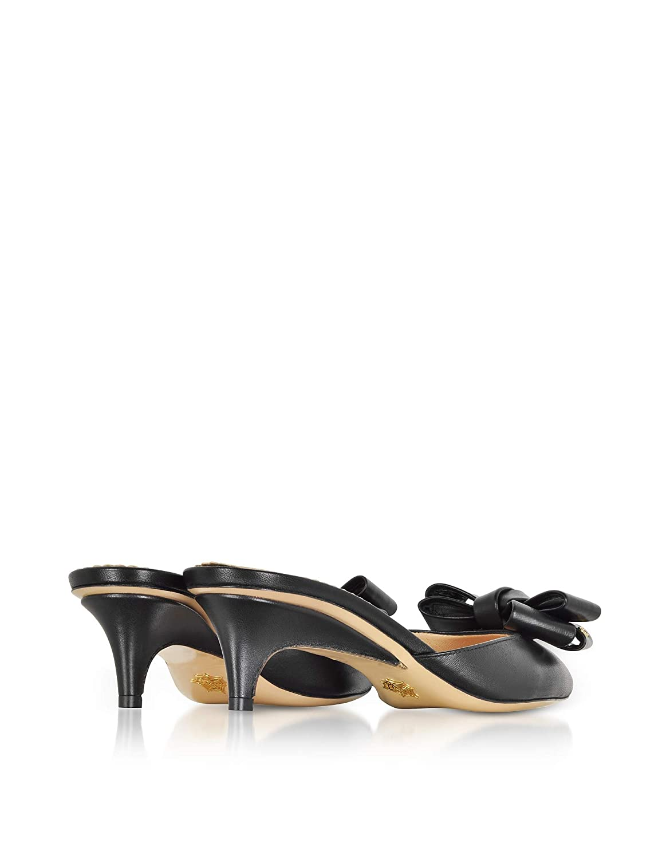 CHARLOTTE OLYMPIA Femme OLP185980A08021 Noir Cuir Chaussures À À Chaussures TalonsB07JFVG3YPParent 27ebca