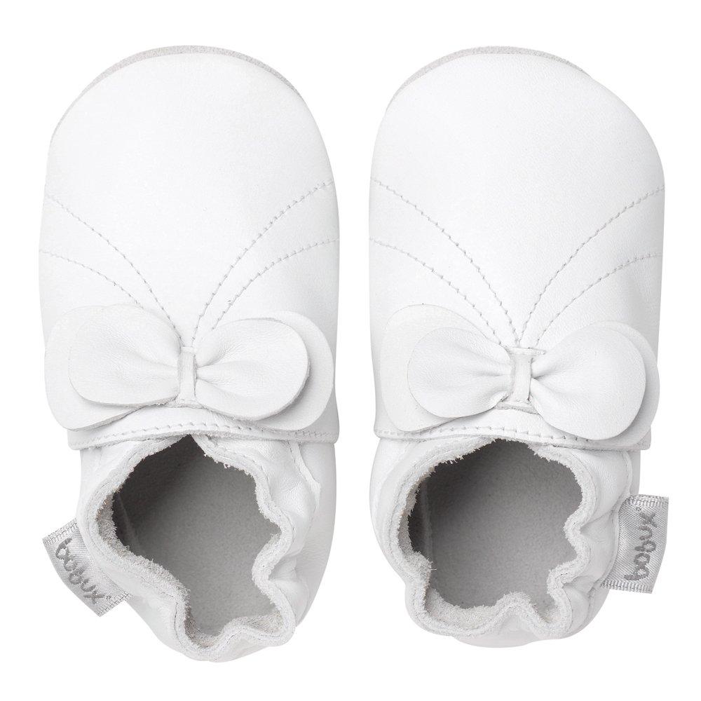 Bobux Chaussure Bébé - White Bow - Taille S BB 4234 S