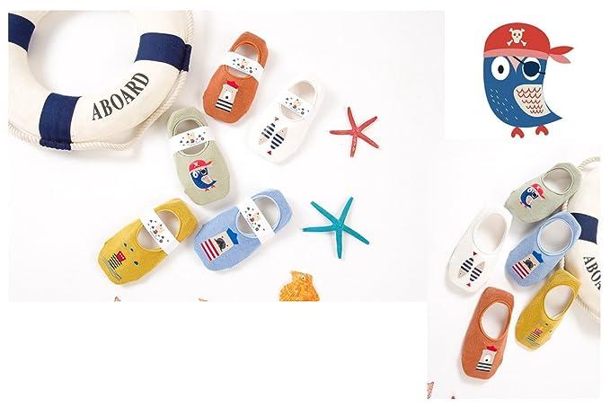 Amazon.com: Pantuflas antideslizantes para niños pequeños ...