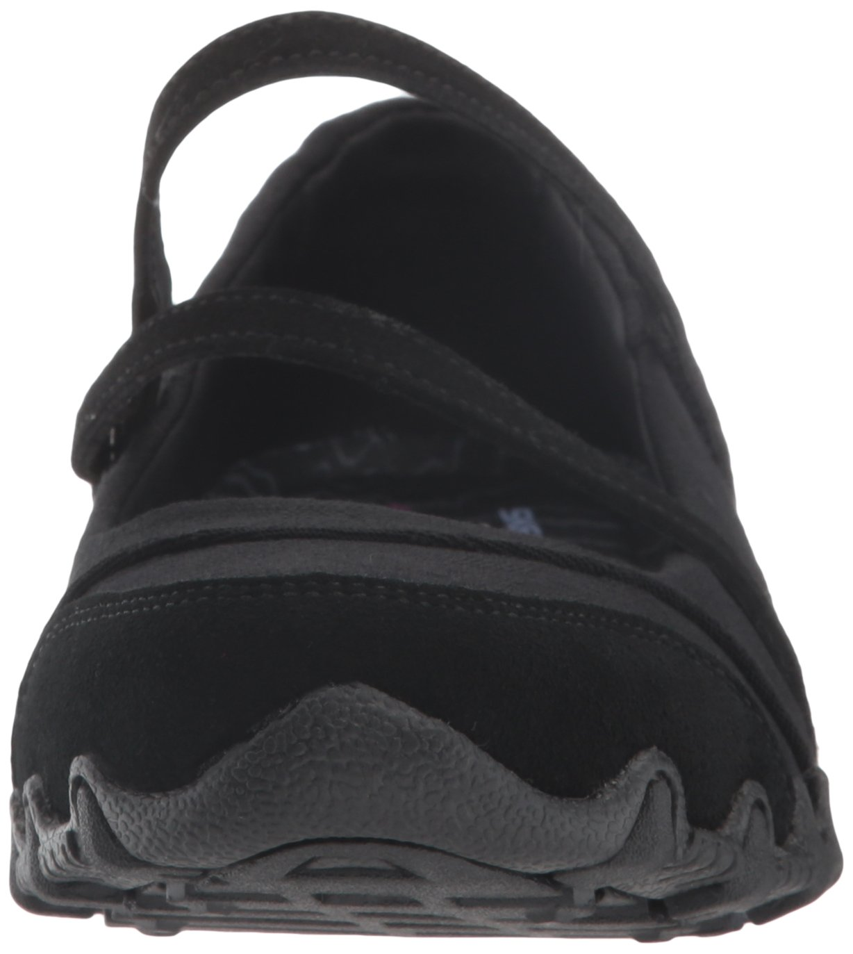 Skechers Women's Bikers -Fiesta Mary Jane Flat,7 M US,Black by Skechers (Image #4)