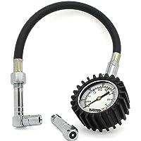 TIRETEK Flexi-Pro - Manómetro para neumáticos de coche