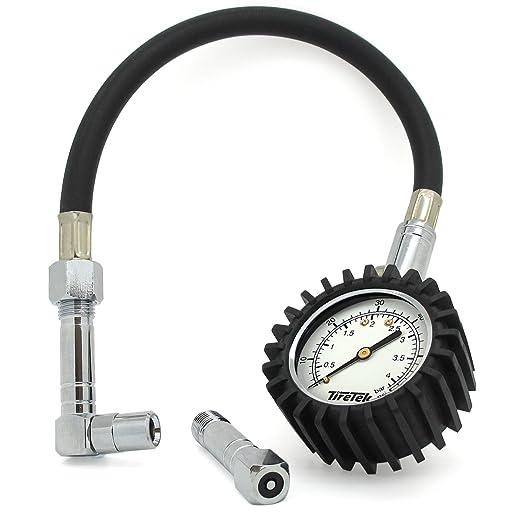 55 opinioni per TireTek Flexi-Pro- Misuratore di pressione per pneumatici auto e moto,