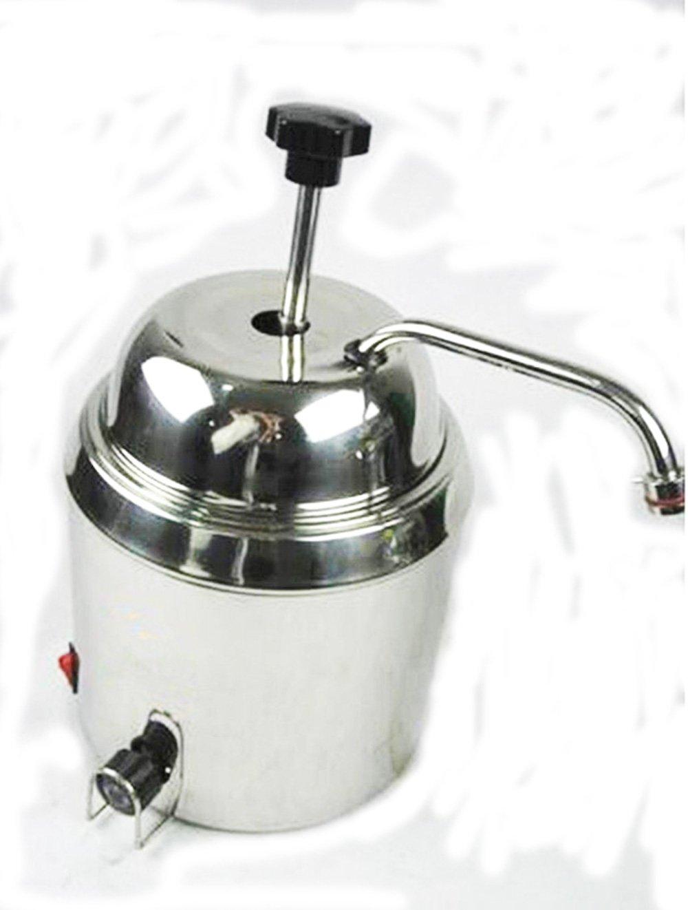110 V/220 V Hot Fudge Nacho queso calentador de dispensador de Chocolate Queso Máquina De Calentamiento De Agua 220V: Amazon.es: Hogar
