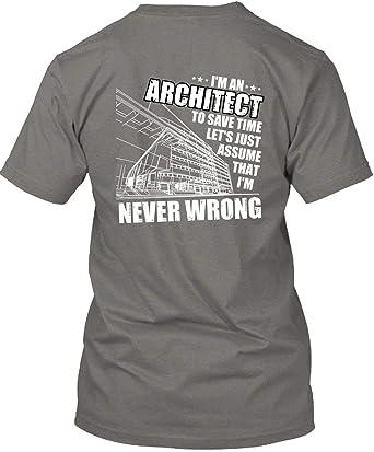 Lets Assume I/'m Never Wrong Womens Sweatshirt I/'m a Builder