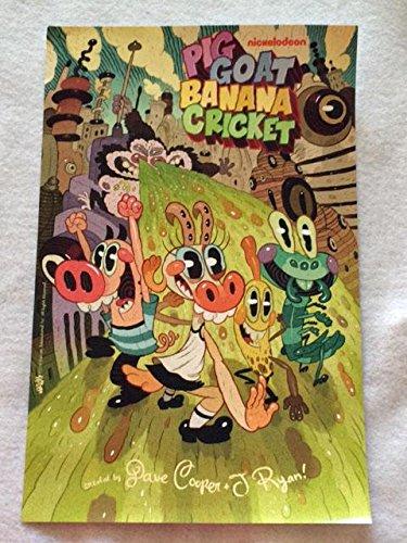Pig Goat Banana Cricket 11 X17 Original Promotional Tv