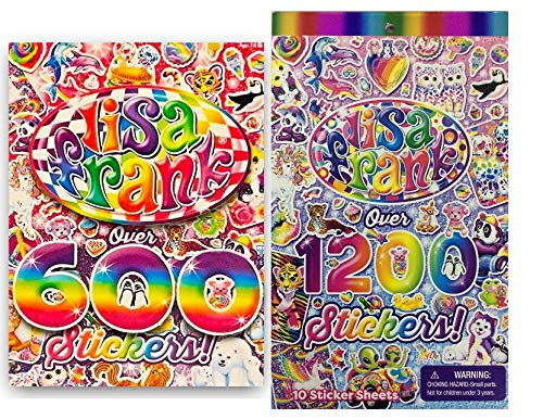 Lisa Frank 600 Stickers and 1200 ()