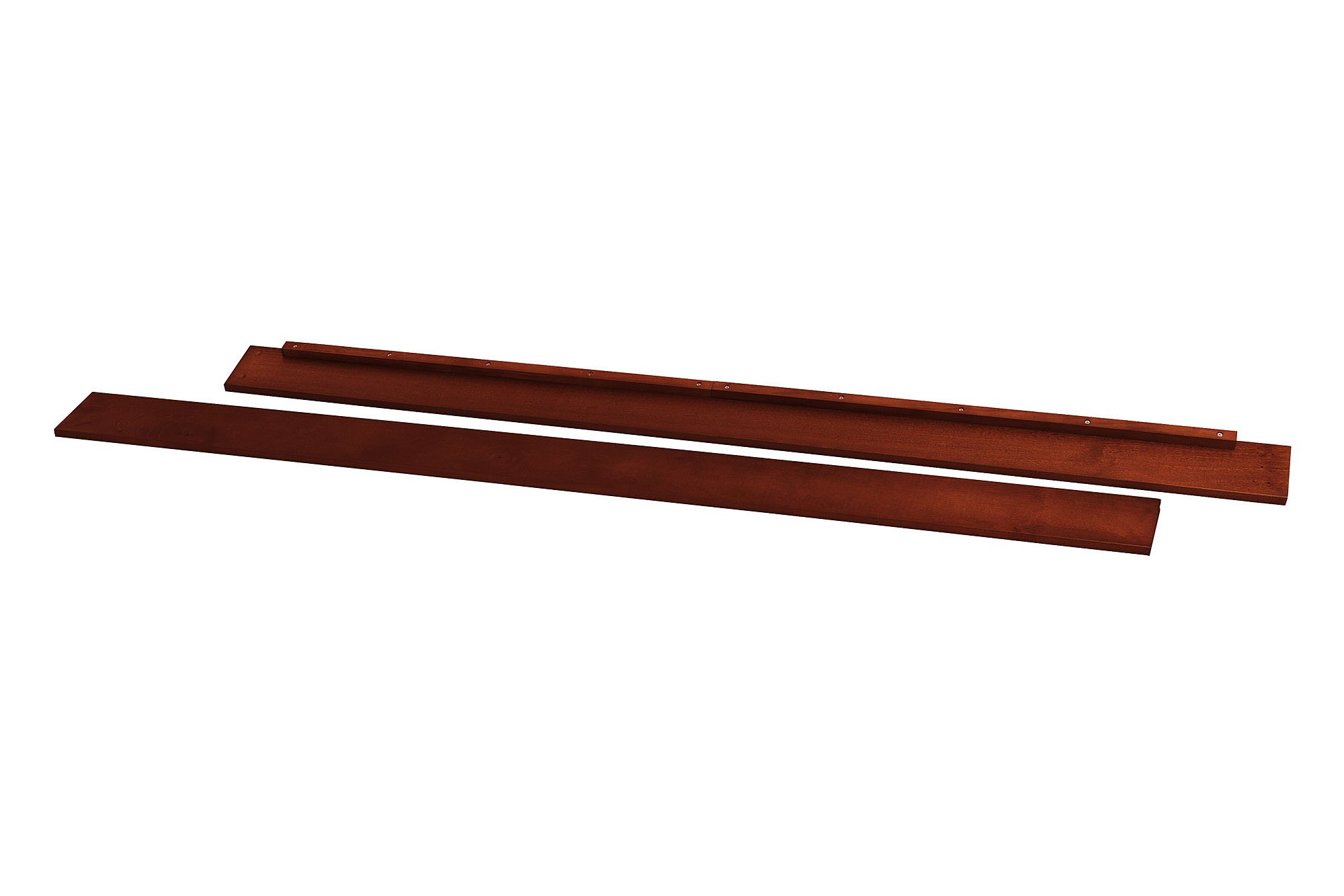 Full Size Conversion Kit Bed Rails for DaVinci Kalani 4-in-1 Crib & Kalani Crib and Changer - Cherry