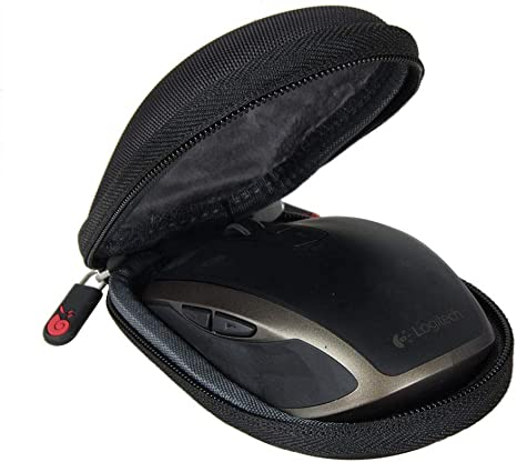 Computer Wireless Mouse Case Travel Carrying Storage Bag Hard Protective Cover Compatible for Logi-tech MX Anywhere 2S