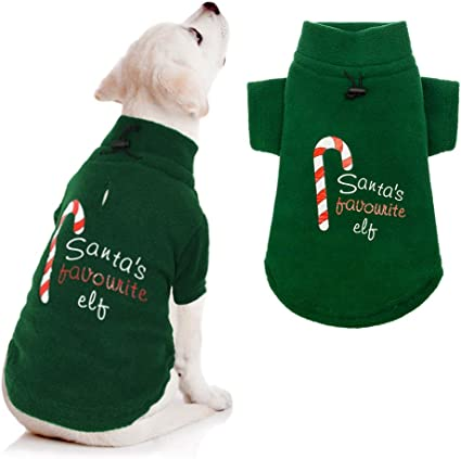 Large SCENEREAL Dog Jumpers Christmas Sweaters Winter Knitwear Xmas Clothes Classic Warm Coats