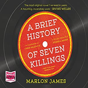 FREE FIRST CHAPTER: A Brief History of Seven Killings Audiobook
