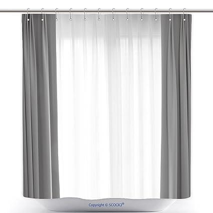 Amazon Vanfan Cool Shower Curtains Transparent Curtain On