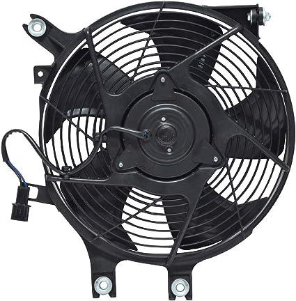 Ca a/c Ventilador condensador Asamblea para Mitsubishi Montero Sport mi3113118: Amazon.es: Coche y moto