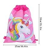 Yansion 12Pack Unicorn Bag Drawstring Goodies Bags
