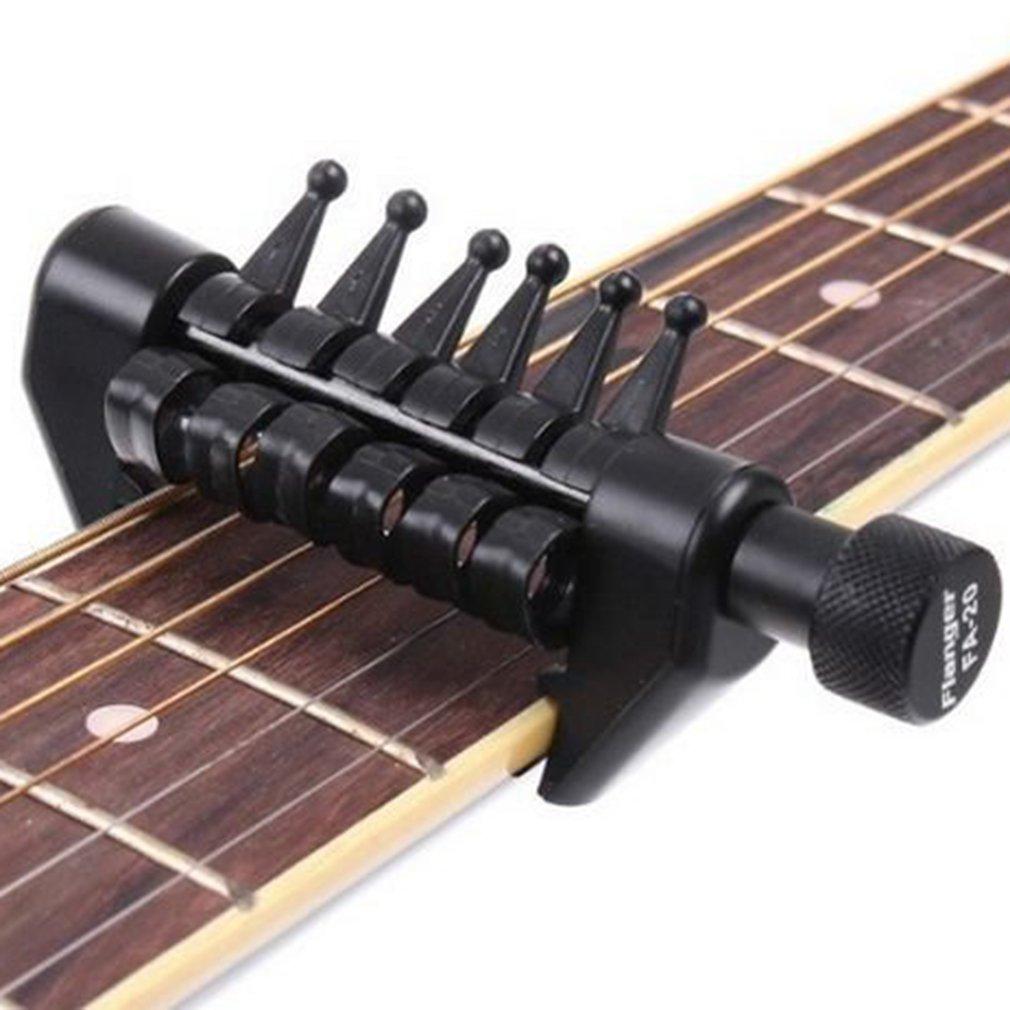LnLyin multifonction Capo Open d'Accords de Spider pour cordes pour guitare acoustique