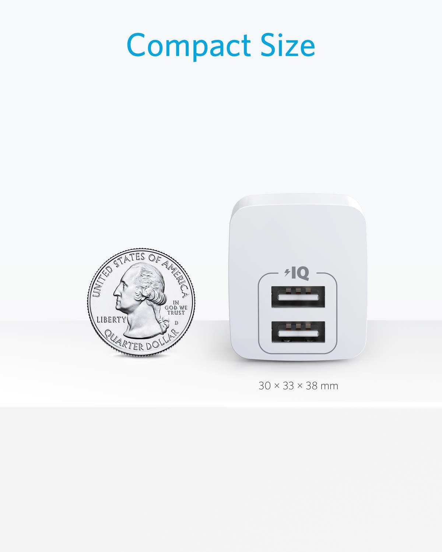 Amazon.com: Anker - Cargador USB de pared con enchufe ...