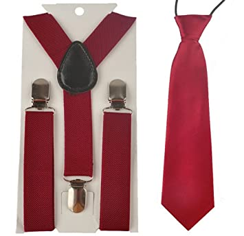 DS Pantalones Tirantes y el Set * Rojo * corbata junden Set Fiesta ...