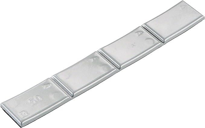 Hofmann Power Weight Typ361 Silber 50g 50x Klebegewichte Leichtmetallfelgen Auswuchtgewicht Klebegewicht Alufelgen Auto