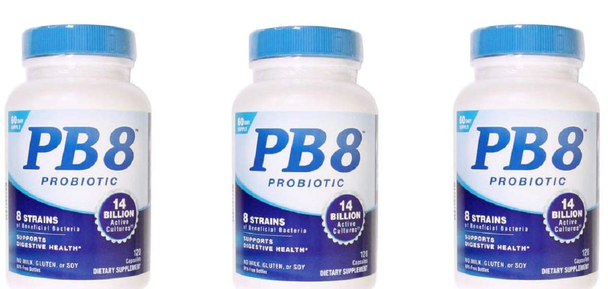 Nutrition Now - PB 8 Probiotic Acidophilus - 120 Capsules (3-Pack)