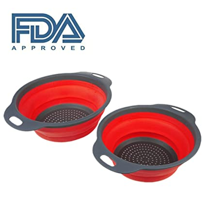 Fry Chef cesta Cocineros Red Chef Basket Cesta De Freír Acero Inoxidable Plegable Chef Basket Flat