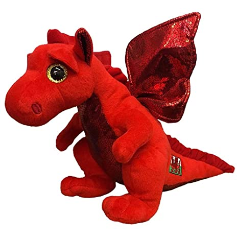 Image Unavailable. Image not available for. Color  Ty Beanie Babies Plush - Y  Ddraig Goch Welsh Dragon ... 6baec6d9f13d