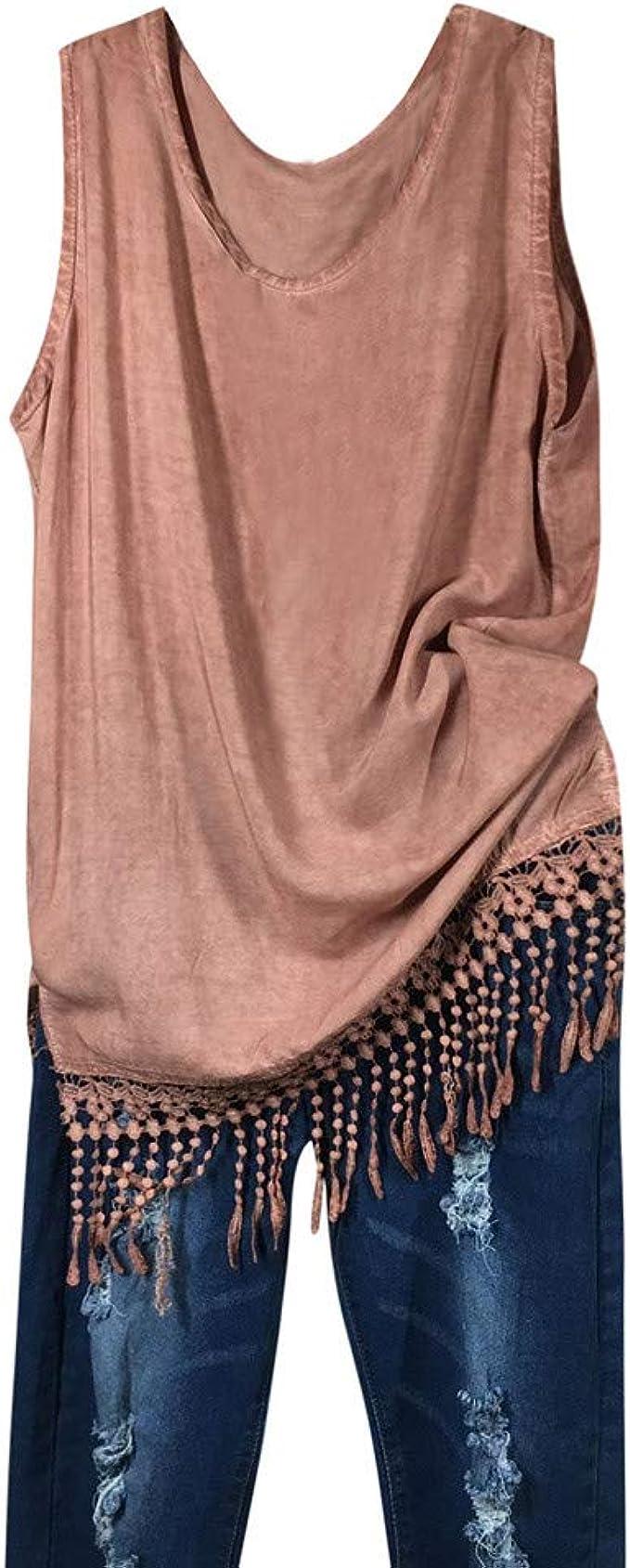 Damark(TM) Ropa Camiseta sin Mangas para Mujeres, Moda ...