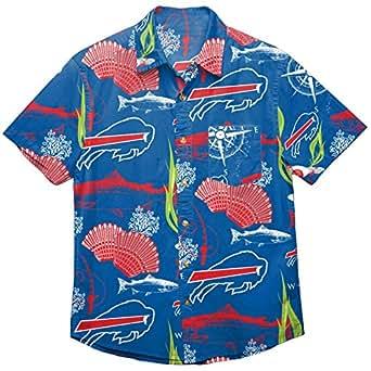 Amazon.com : NFL Mens Floral Tropical Button Up Shirt
